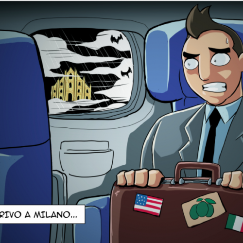 HE MOVES TO MILAN